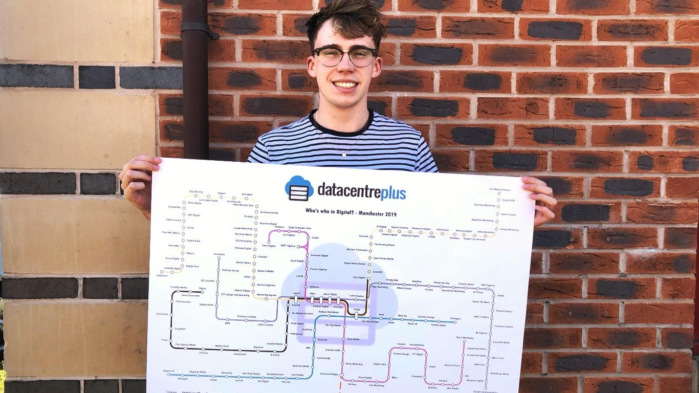 Datacentreplus on the Manchester Agency Tram Map