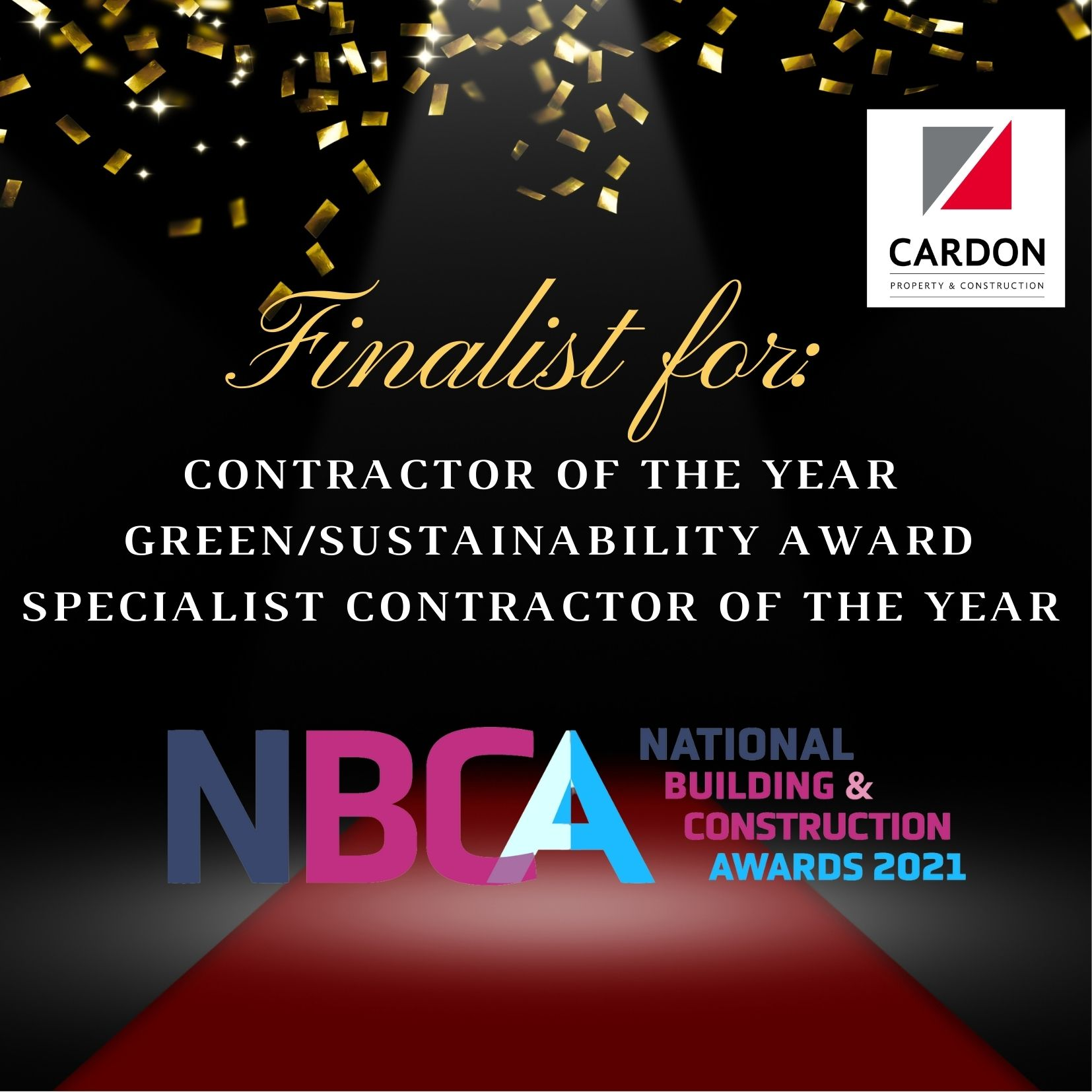 Finalists for the National Building & Construction Awards