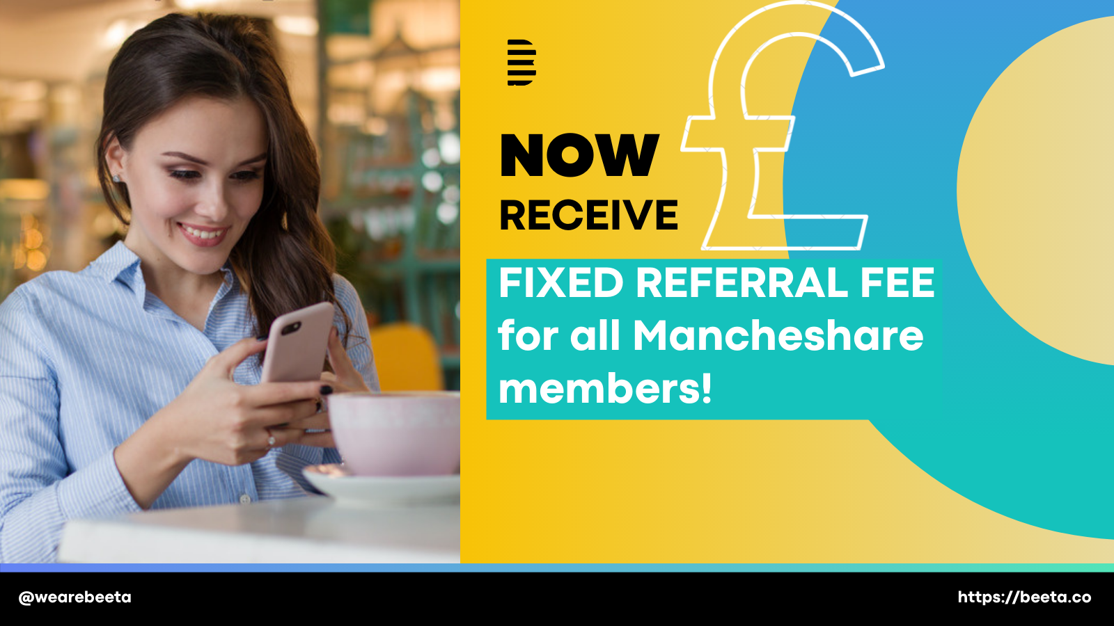 Referral fee for all Mancheshare members!