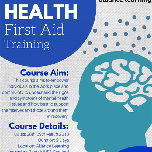 New Courses in Mental Health launched by Alliance Learning