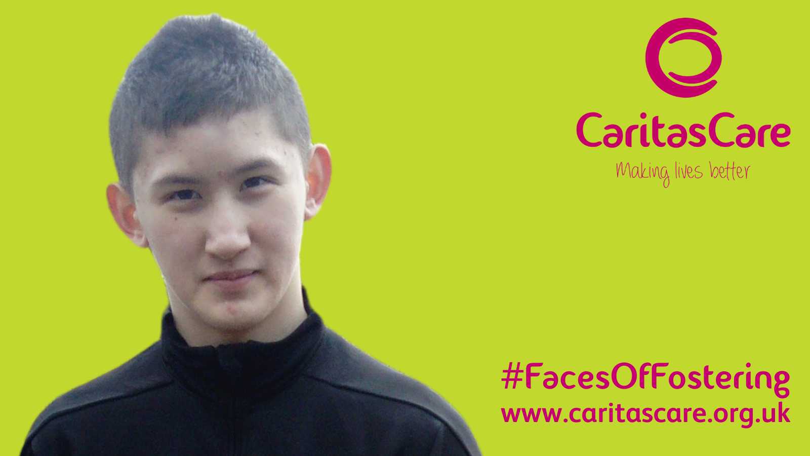 #FacesOfFostering - Byron's journey in Foster Care (in his own words)