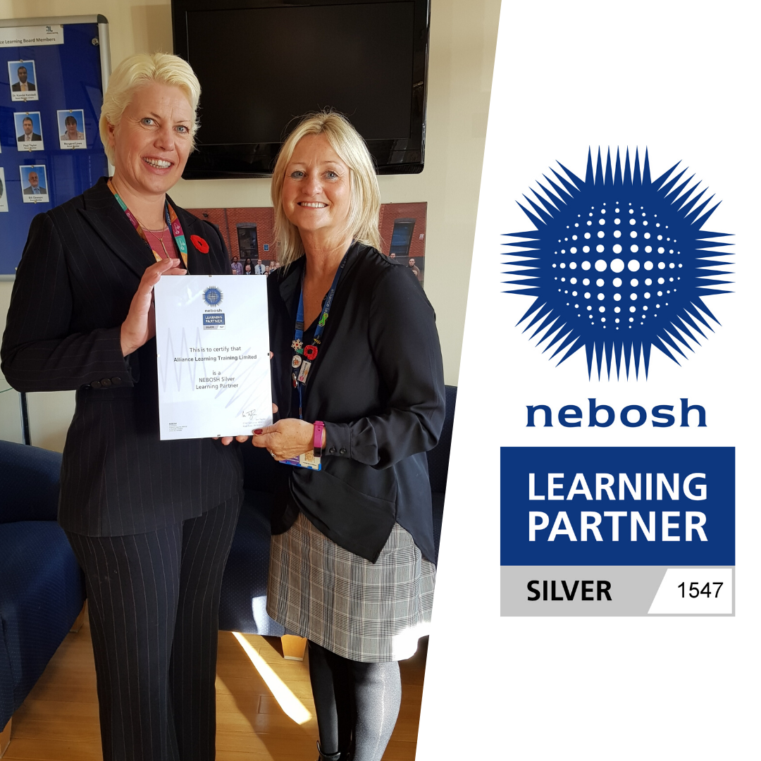 Alliance Learning Named as a NEBOSH Silver Learning Partner