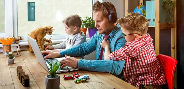3 tips for balancing working from home with home-schooling