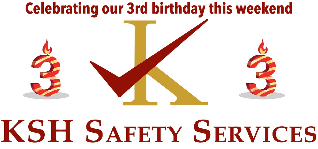 KSH Safety Services celebrates its third birthday by becoming members of the British Safety Council